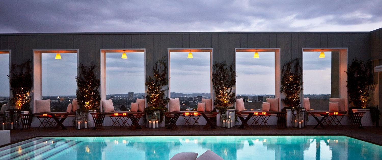 Skybar At Mondrian Hotel photo