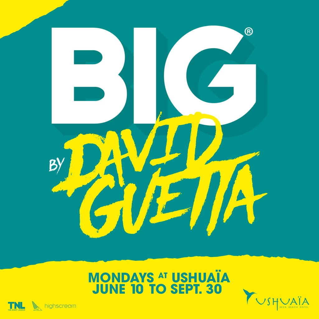 BIG by David Guetta - Flyer front