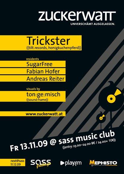 Zuckerwatt - Flyer back
