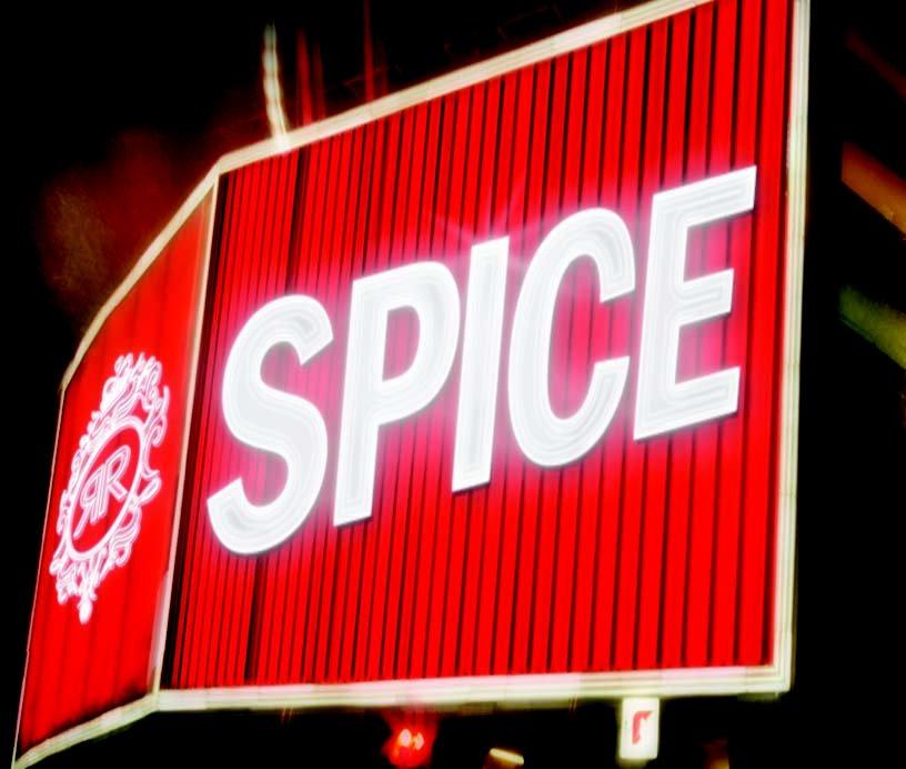 Spice with Matt Aubusson,  Robbie Lowe , Trinity,  Murat Kilic - Flyer front