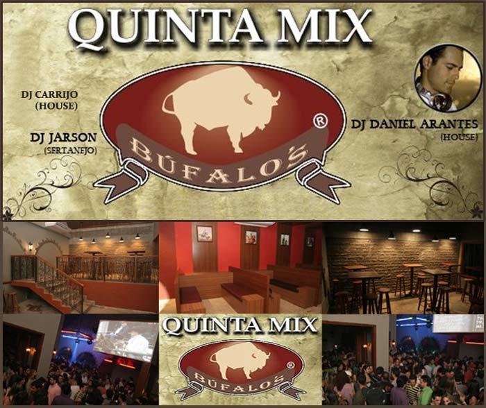 Quinta Mix - Flyer front