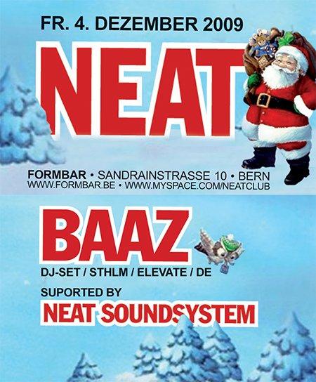 N*E*A*T Vol. 23 - Flyer front