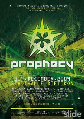 The Prophecy - Flyer front