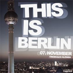 This Is Berlin - Flyer front