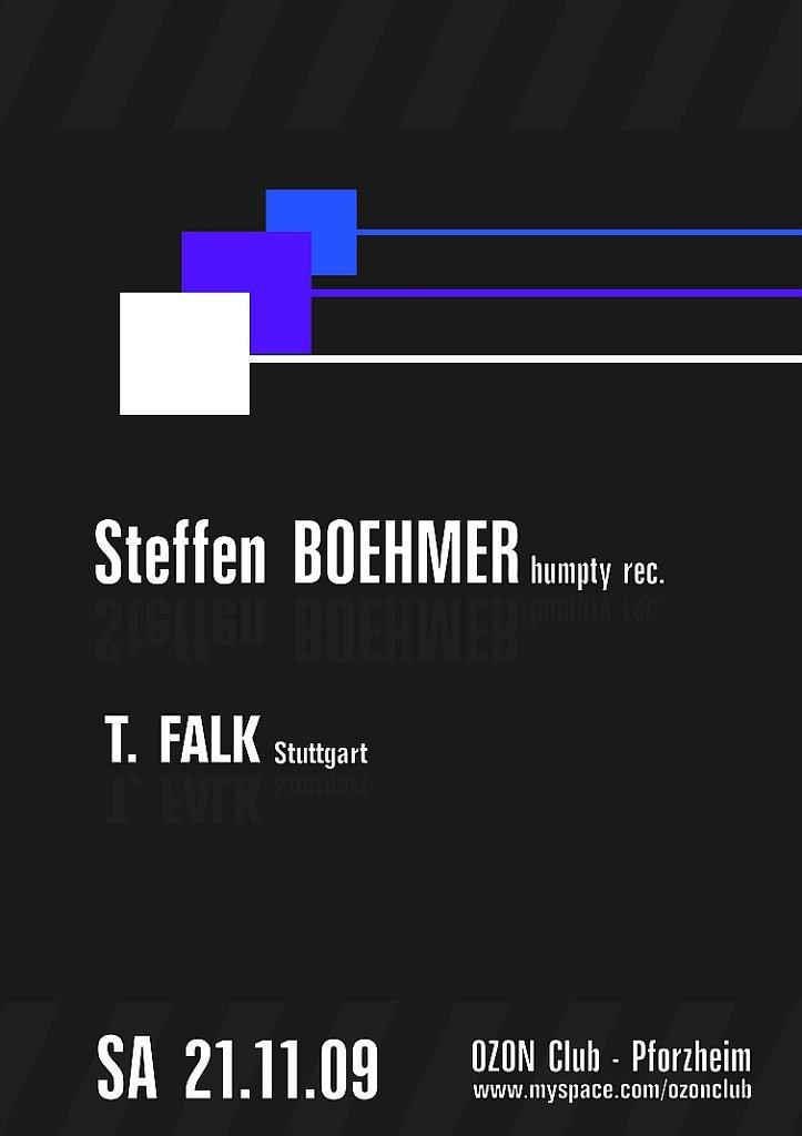 Steffen Boehmer - Flyer front
