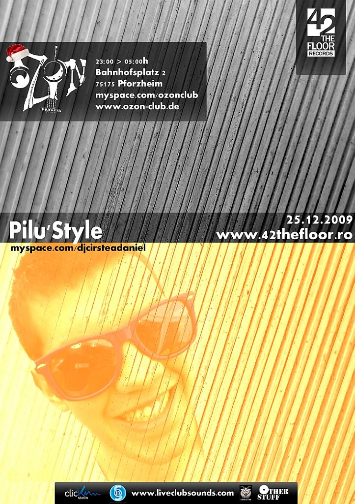 Pilu´style - Flyer front