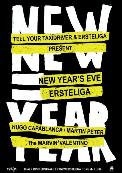 New Years Eve - Flyer front