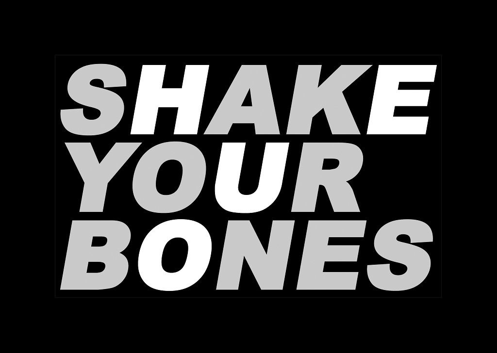 Shake Your Bones with Dj Wild and Andre Buljat - Flyer front
