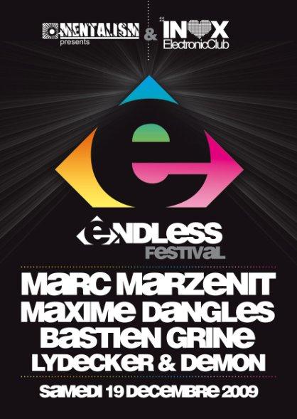 Endless Festival - Flyer front