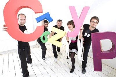 Big Dish Go presents Crazy P Soundsystem - Flyer front