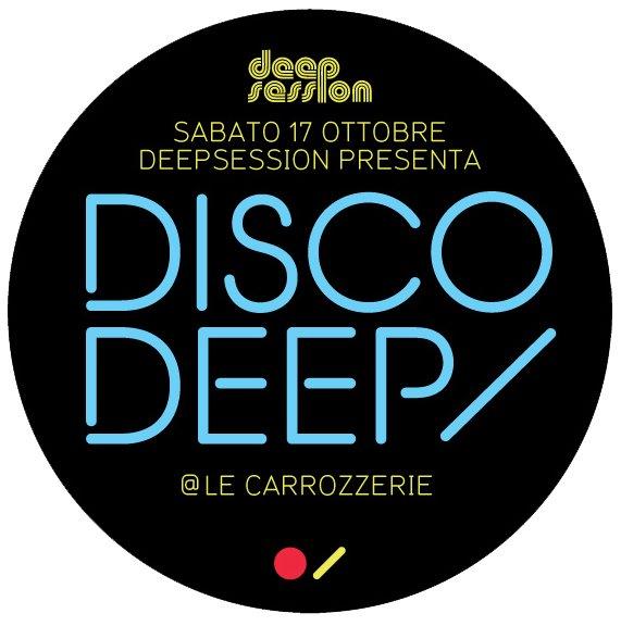 Deepsession presents: Discodeep with Titan & The Phantom'Sm's Revenge - Flyer front