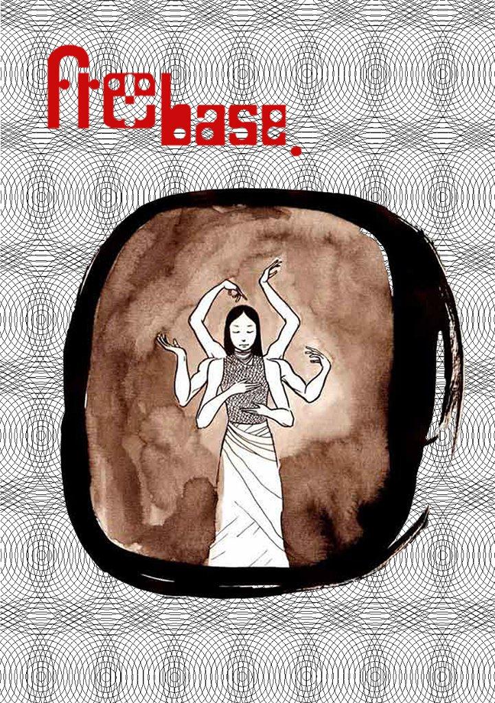 Freebase 1st Anniversary - Flyer back