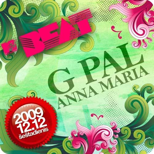 Mtv Beat feat. G Pal, Anna Maria - Flyer front