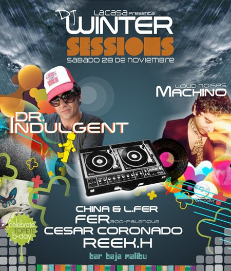 Winter Sessions - Flyer front