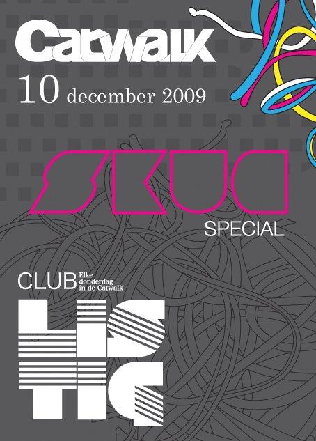 Club Listig - Skug Special - Flyer front