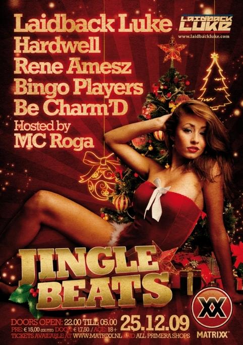 Jingle Beats - Flyer front