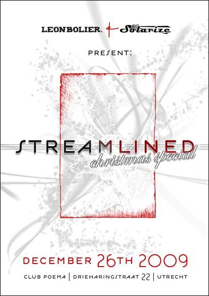 Streamlined - Flyer front