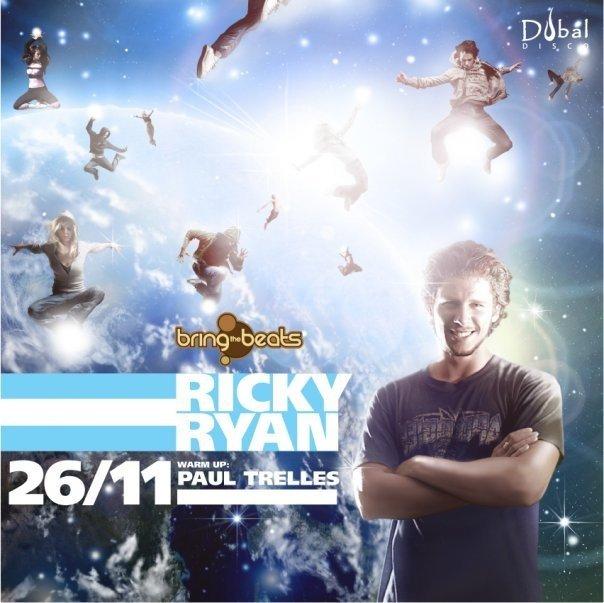 Ricky Ryan - Flyer front