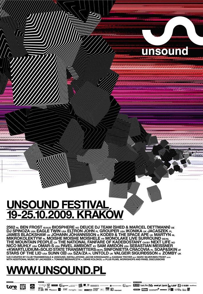 Unsound Festival 2009 - Flyer front