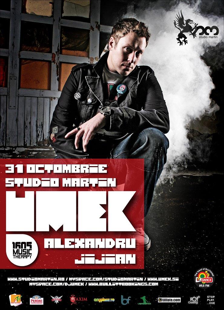Umek // Viva La Techno! Edition 0.2 - Flyer front