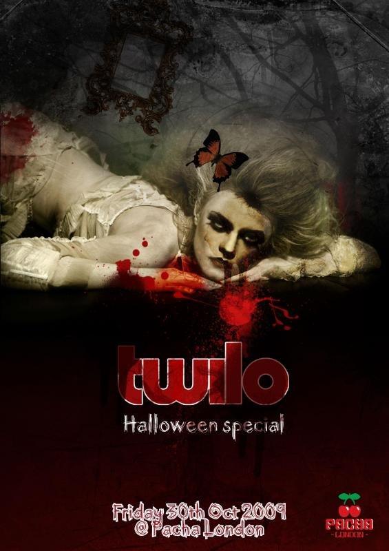 Twilo Halloween Special - Flyer front