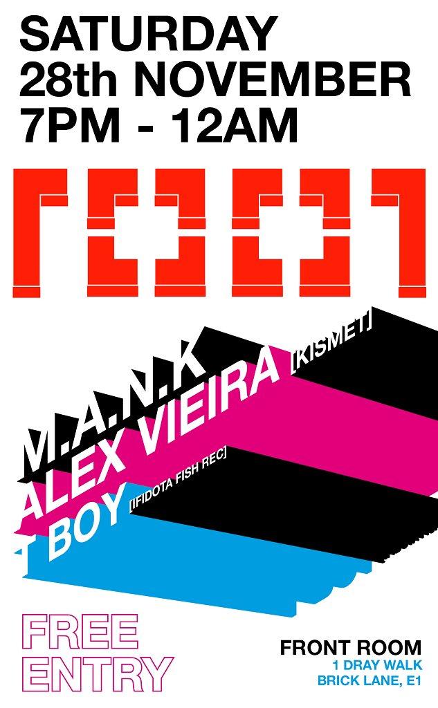 Alex Vieira Night - Flyer front