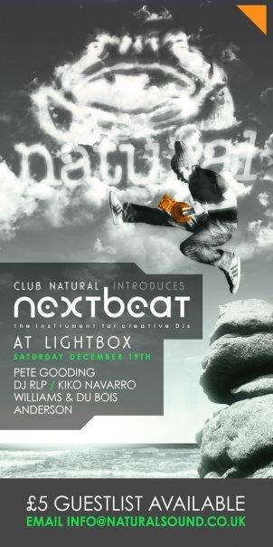 Nextbeat - Flyer front