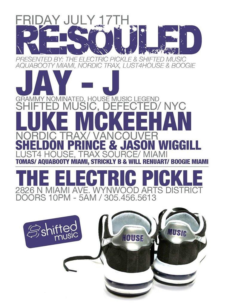 Jay-J & Luke Mckeehan - Flyer front