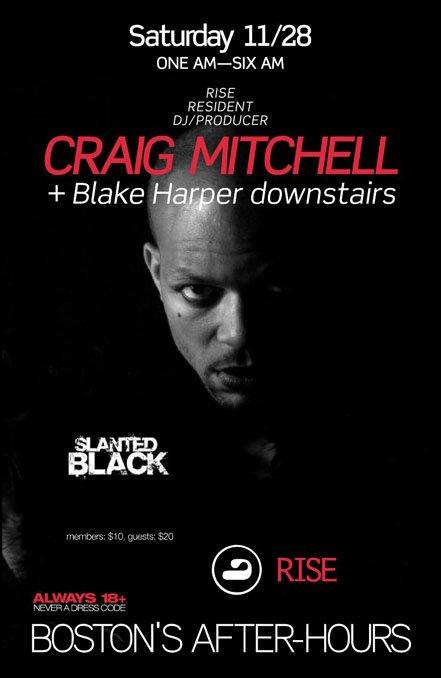 Craig Mitchell & Blake Harper - Flyer front