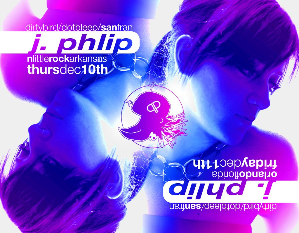Headstrong Sessions presents J. Phlip - Flyer front
