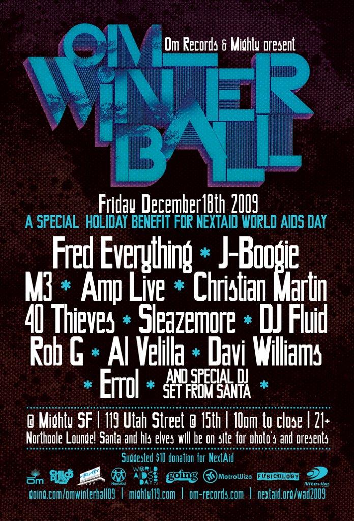 Om: Winter Ball - Flyer back