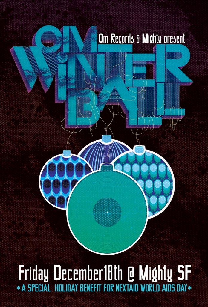 Om: Winter Ball - Flyer front