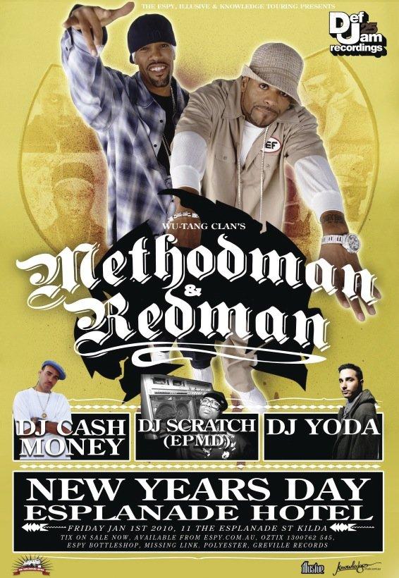 Method Man & Redman (2nd Show) - Flyer front
