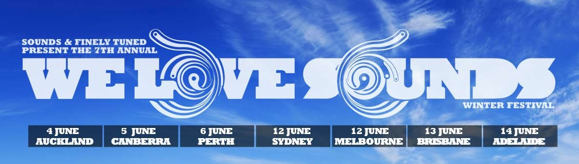 We Love Sounds Adelaide 2010 - Flyer front