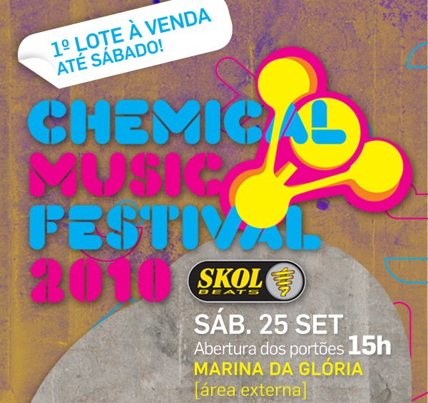 Chemical Music Festival 2010 - Flyer front