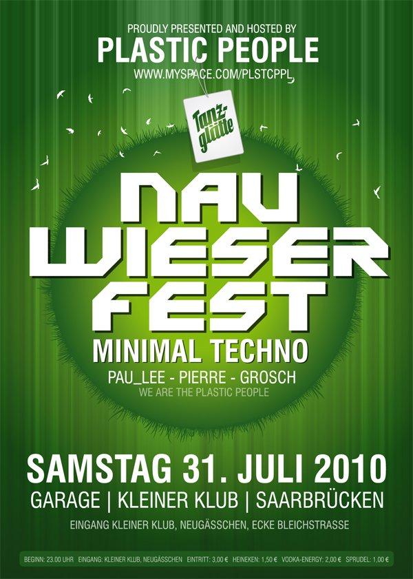Tanzglätte Am Nauwieserfest - Flyer front