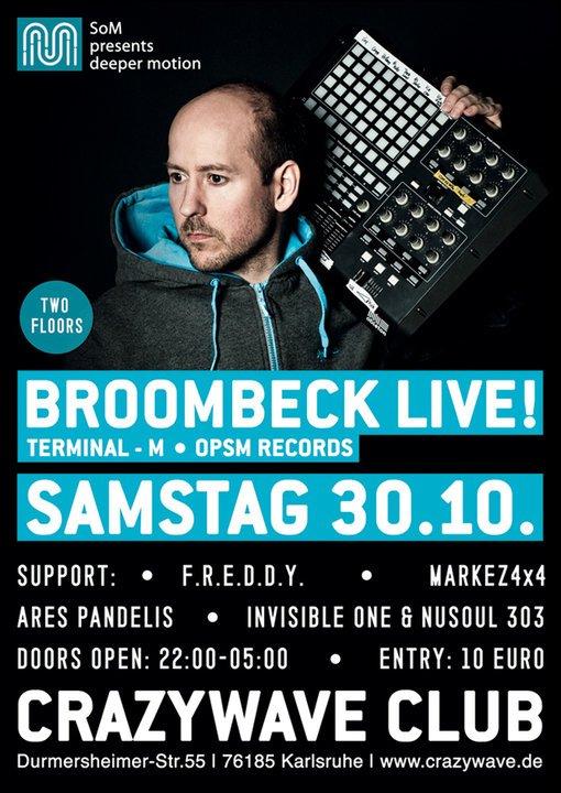 Broombeck - Flyer front