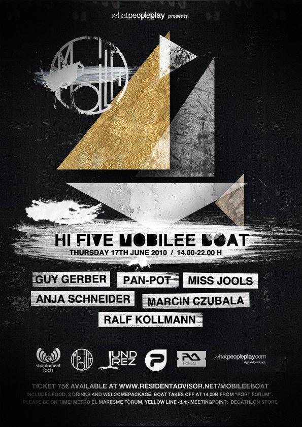 Hi Five Mobilee Boat - Flyer front