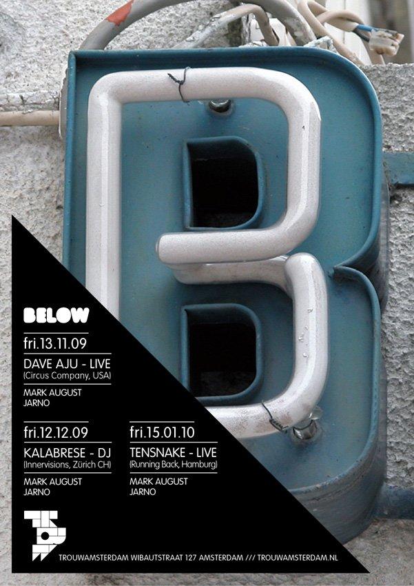 Below - Flyer front