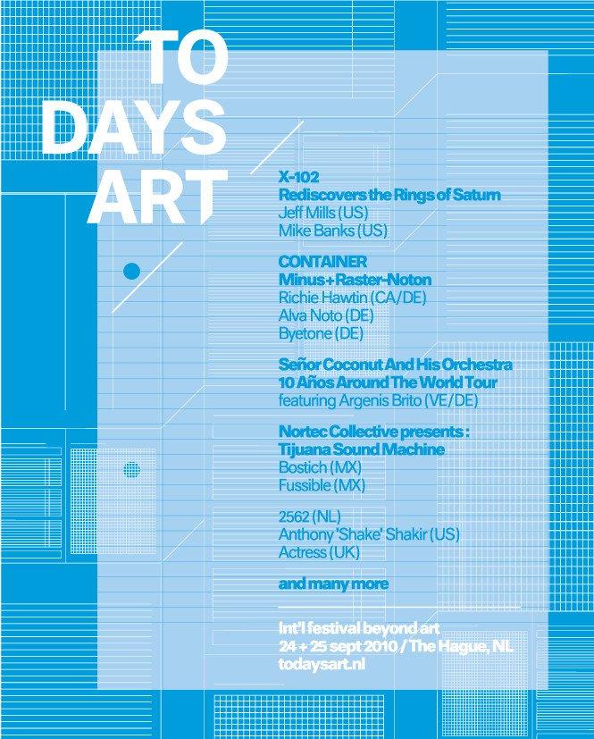 Todaysart Festival 2010 - Day 1 - Flyer back