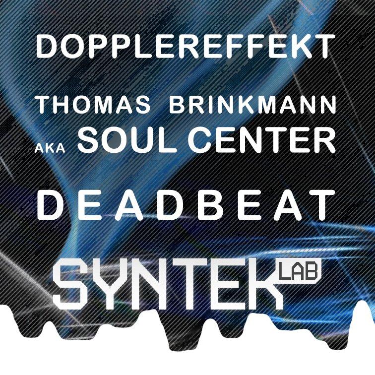 Syntek Lab - Flyer front