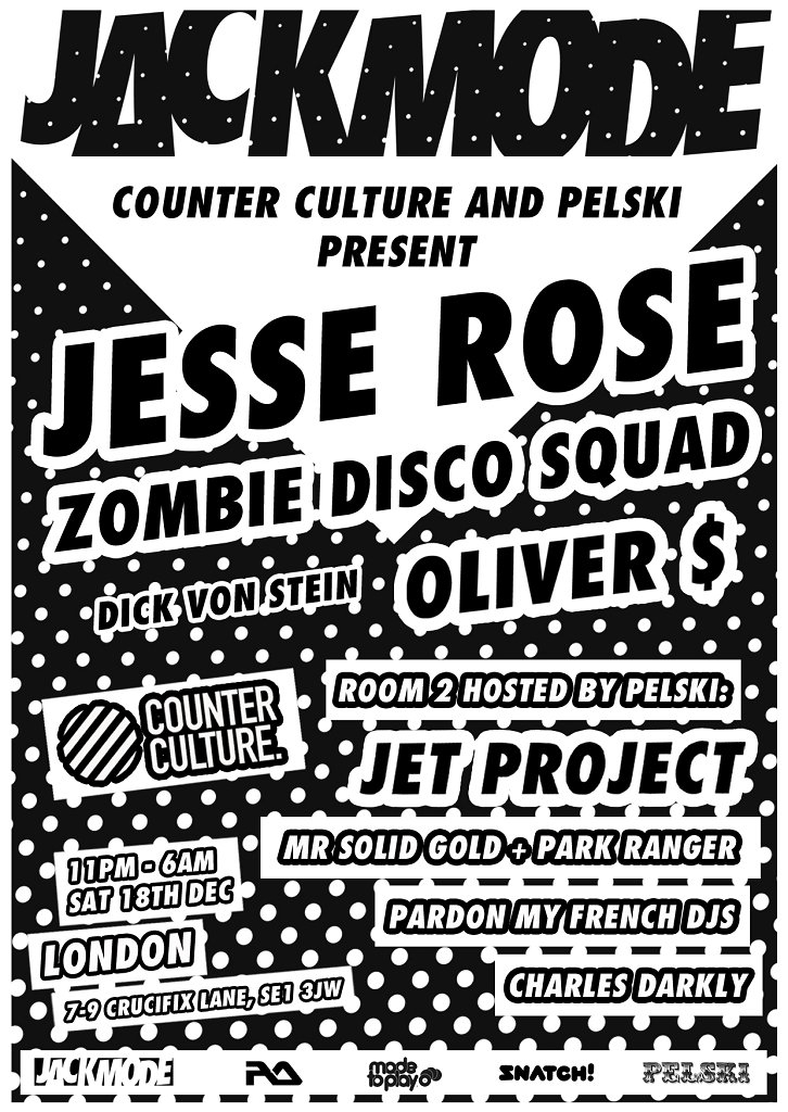 Counter Culture presents Jackmode Part 2 - Flyer front