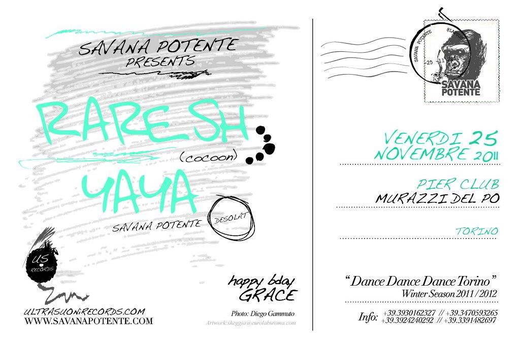Savana Potente presents Dance Dance Dance Torino - Flyer back