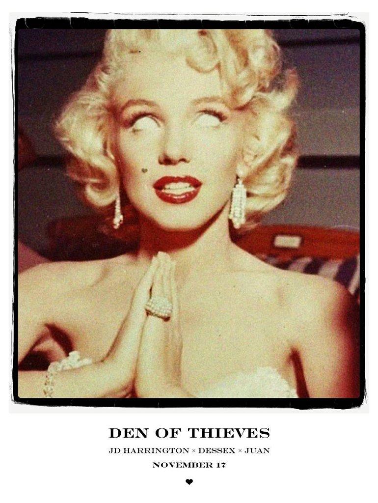 Den Of Thieves: Jd Harrington Dessex - Flyer front