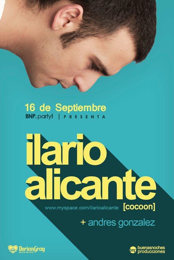 Ilario Alicante - Flyer front
