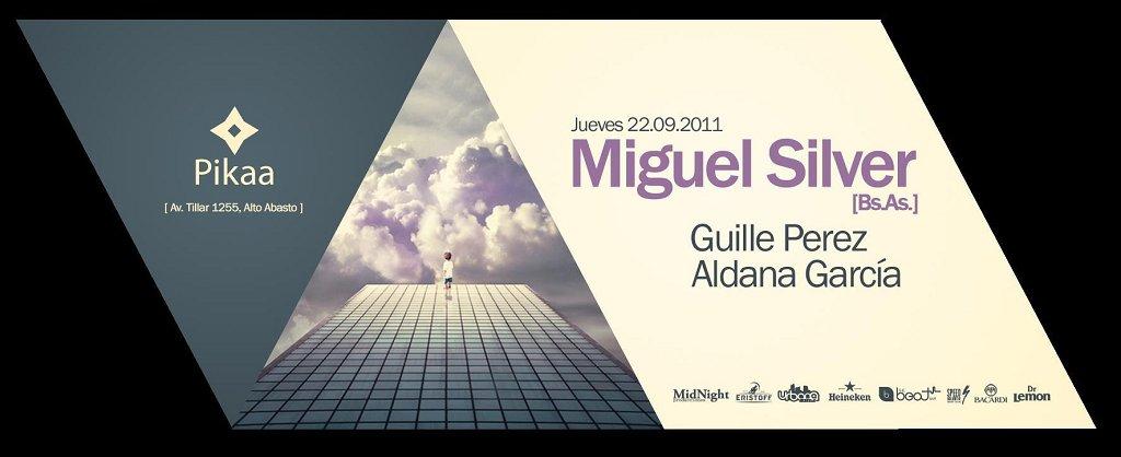 Dj Miguel Silver - Flyer back
