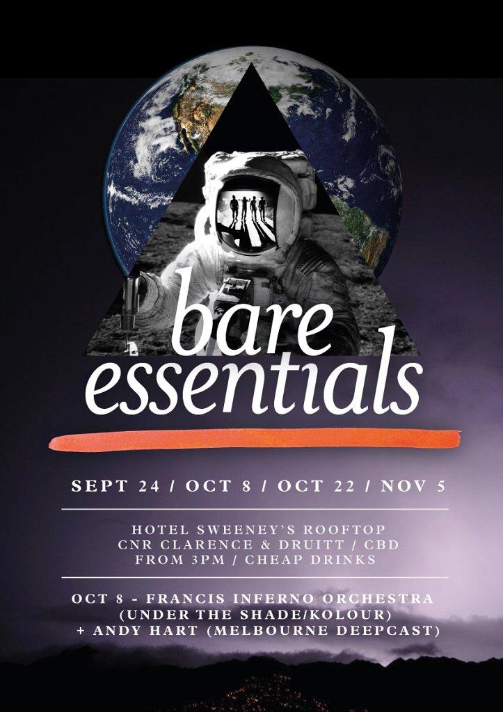 Bare Essentials - Flyer front