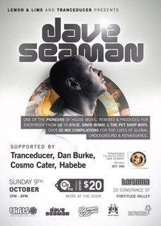 Renaissance Master Series - Dave Seaman - Flyer front