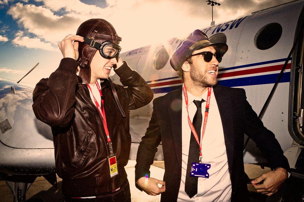Flight Facilities 'Foreign Language Tour' - Flyer back