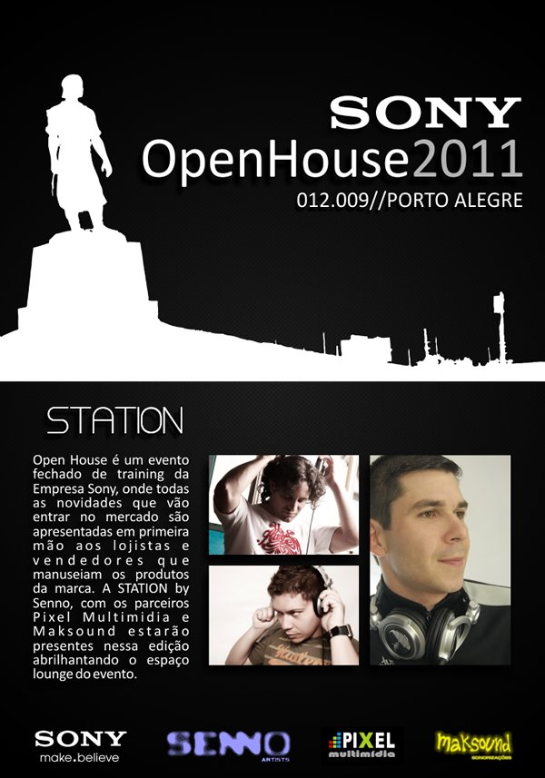 Station At Sony Openhouse 2011 / Rs - Flyer front